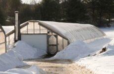 Зимняя теплица-термос и ее особенности