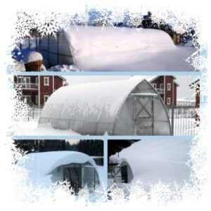Снеговая нагрузка на теплицу