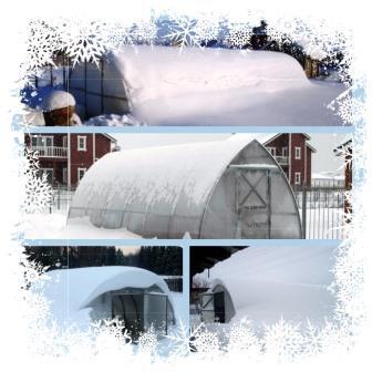 снеговая нагрузка на теплицу - обложка статьи